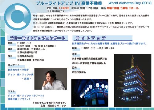 Blue Light-Up Concert