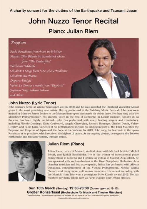 John Nuzzo Tenor Recital